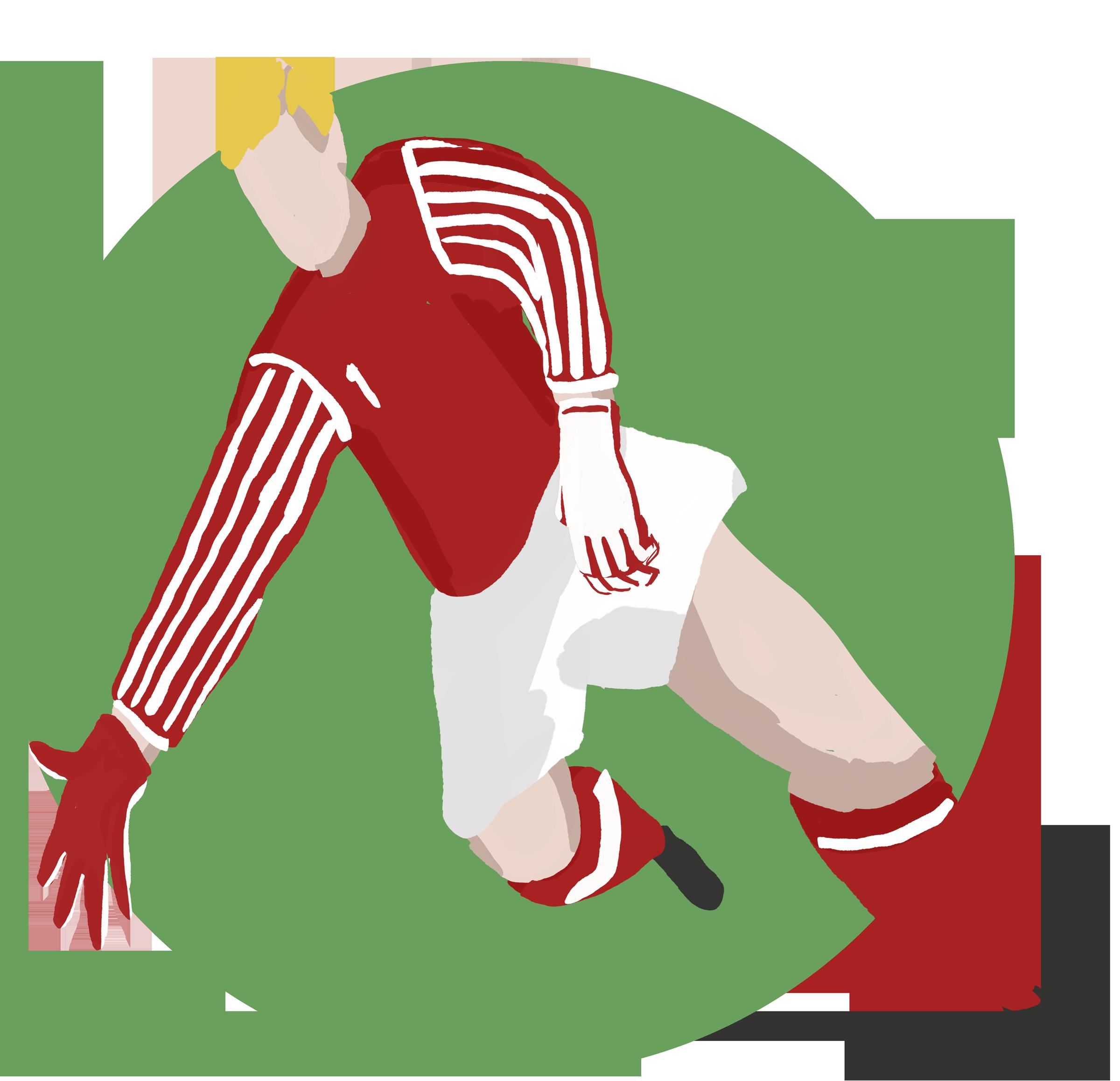 Goalkeeper sketch